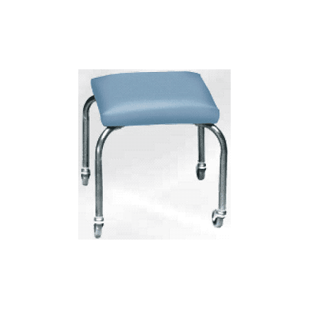 Mobile Stool Unit (Armedica AM-844 Stainless Steel 4 Leg Cushion Mobile)