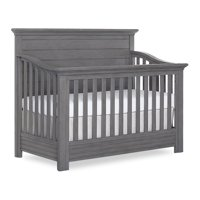 Evolur Waverly 5-in-1 Full Panel Convertible Crib, Rustic Grey