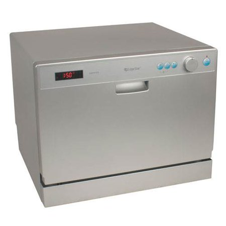 ... Place Setting Portable Countertop Dishwasher - Silver - Walmart.com