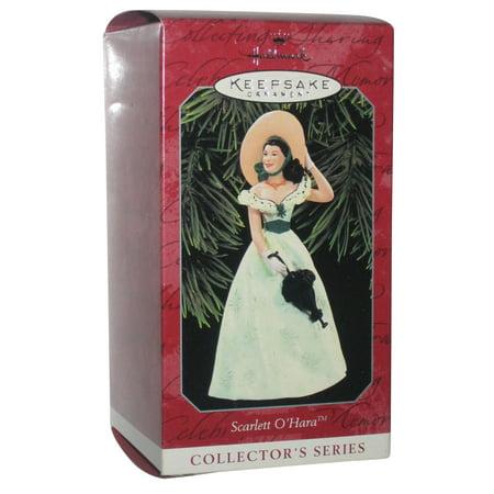 Gone With The Wind Scarlett Ohara Hallmark Keepsake Ornament (Scarlett Ohara Costume)