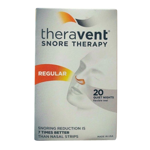 Theravent Snore Therapy Quiet Nights Flexible Seal Strips, Regular, 20 Ea