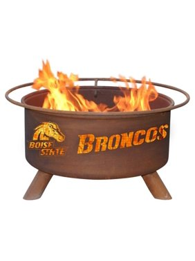 """Patina Products F234 24"""" Steel Boise State University Fire Pit"""