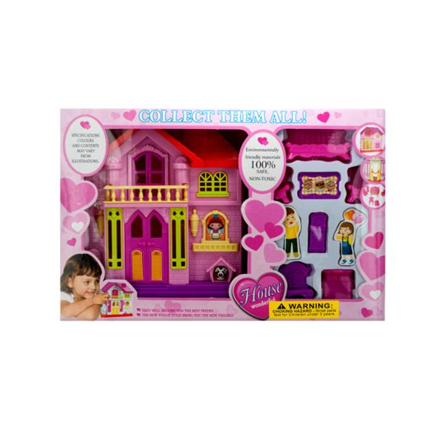 Bulk Buys OC011-4 House Play Set