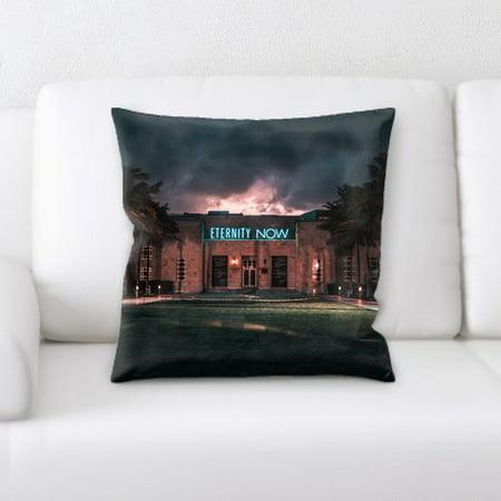 Latitude Run Jaycee Neon Throw Pillow (Neon Run Orlando)