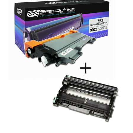 SpeedyInks - Compatible Brother TN450 TN-450 + DR420 DR-420 Compatible Toner & Drum Set For Use In DCP-7060D DCP-7065DN HL-2130 HL-2132 HL-2220 HL-2230 HL-2240 HL-2240D HL-2242D Color Toner Imaging Drum