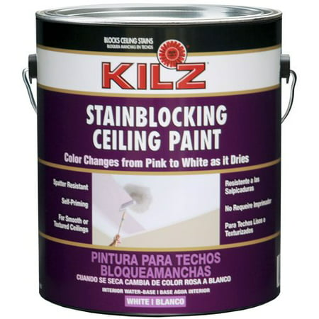Kilz Ceiling Paint Pink To White