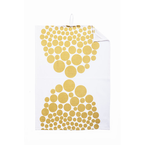 Scantrends Dots Organic Tea Towel (Set of 2)