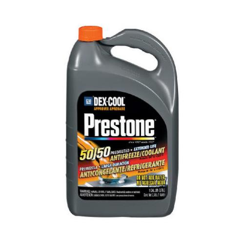 Prestone Dex-Cool Extended Life Antifreeze/Coolant Quickfill, 1-Gallon
