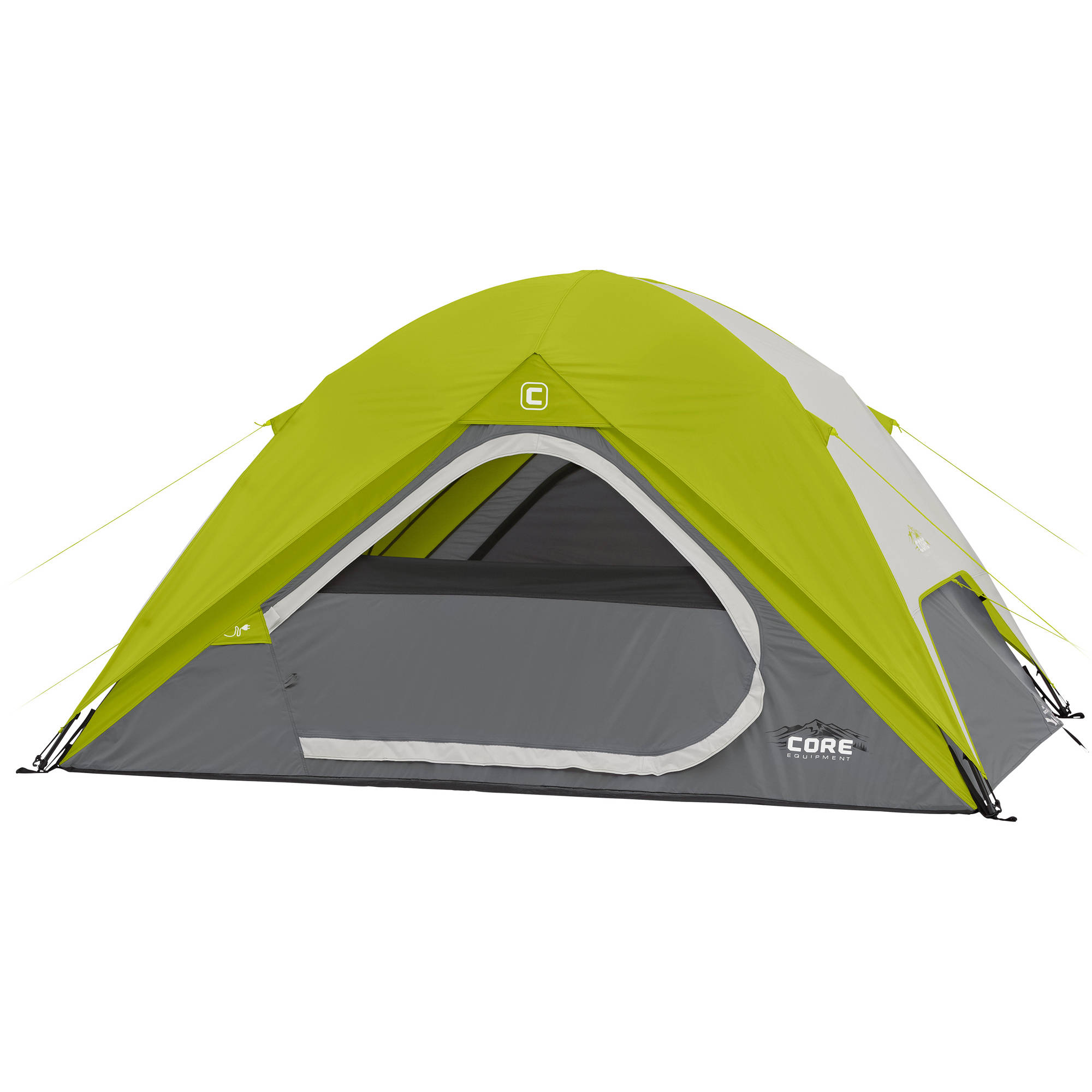 Core Equipment 9' x 7' Instant Dome Tent, Sleeps 4 by Elevate LLC