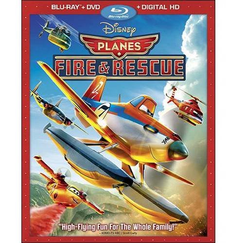 Planes: Fire And Rescue (Blu-ray + DVD + Digital HD) (Widescreen)
