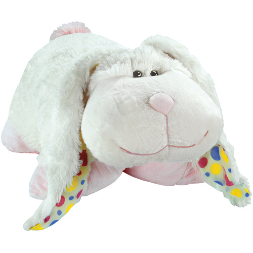 Pillow Pets, Limited Edition 2011, White Thumpy Bunny