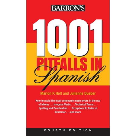 1001 Pitfalls In Spanish - Items In Spanish