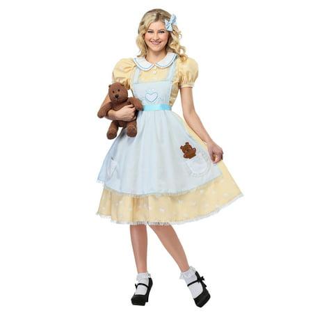 Women's Goldilocks Costume - Goldilocks Halloween