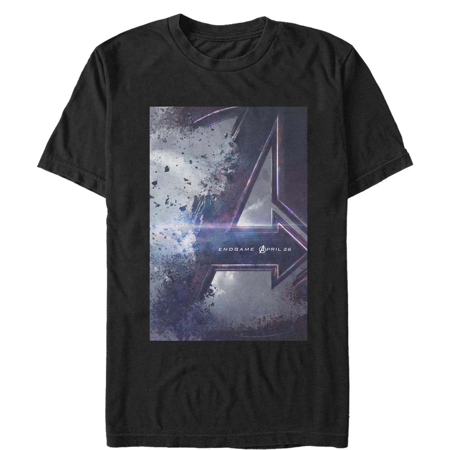 Marvel Men's Avengers: Endgame Movie Poster T-Shirt