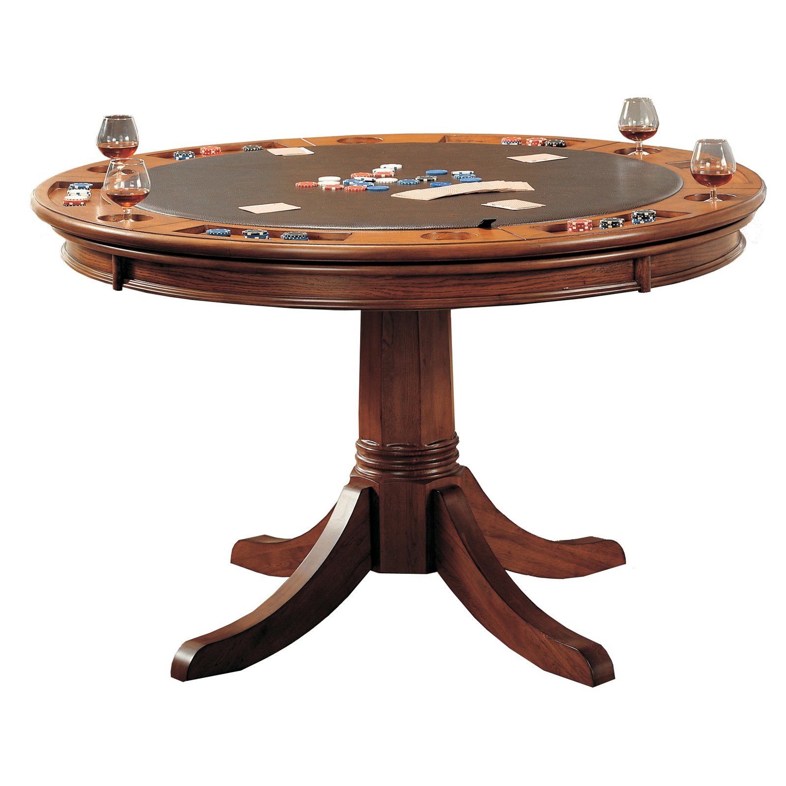 Hillsdale Park View Poker Table by Hillsdale