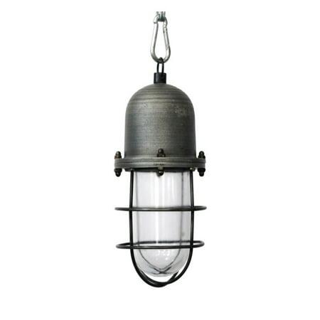 Image of Amber Home Goods Cromford Industrial Pendant Light