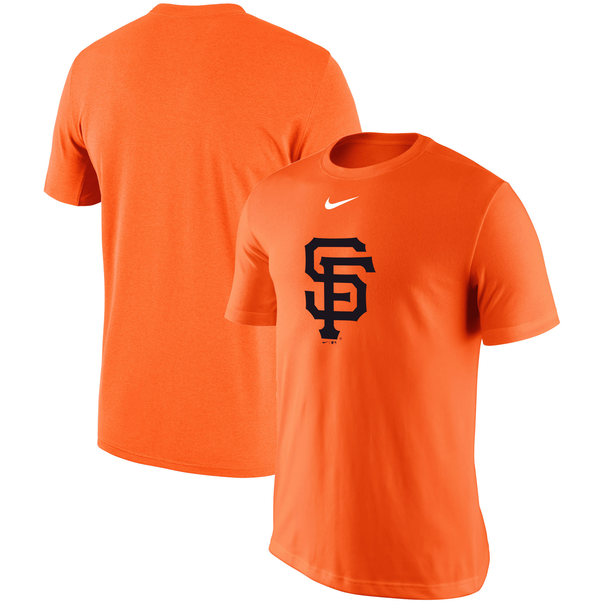 San Francisco Giants Nike Batting Practice Logo Legend Performance T-Shirt - Orange