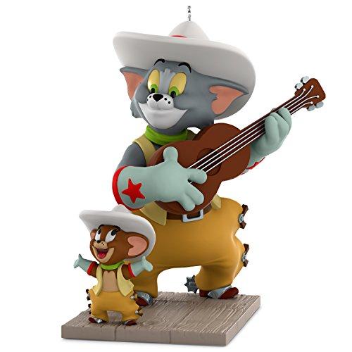 "Hallmark Warner Bros. Looney Tunes Tom & Jerry ""Texas Tom"" Keepsake Christmas Ornament"