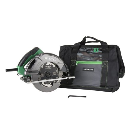 Metabo HPT 7-1/4u0022 Circular Saw With Carrying Bag & Hex Bar Wrench, C7SB3M
