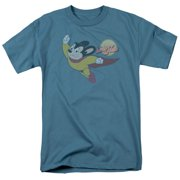Mighty Mouse - To The Sky - Short Sleeve Shirt - XXX-Large