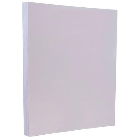 JAM Paper Vellum Bristol Cardstock, 8.5