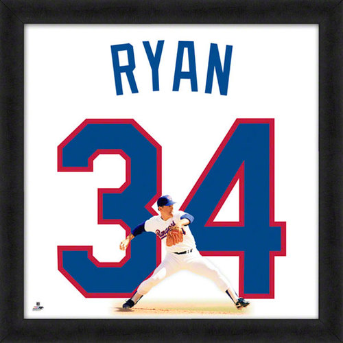 MLB - Nolan Ryan Texas Rangers 20x20 Uniframe Photo
