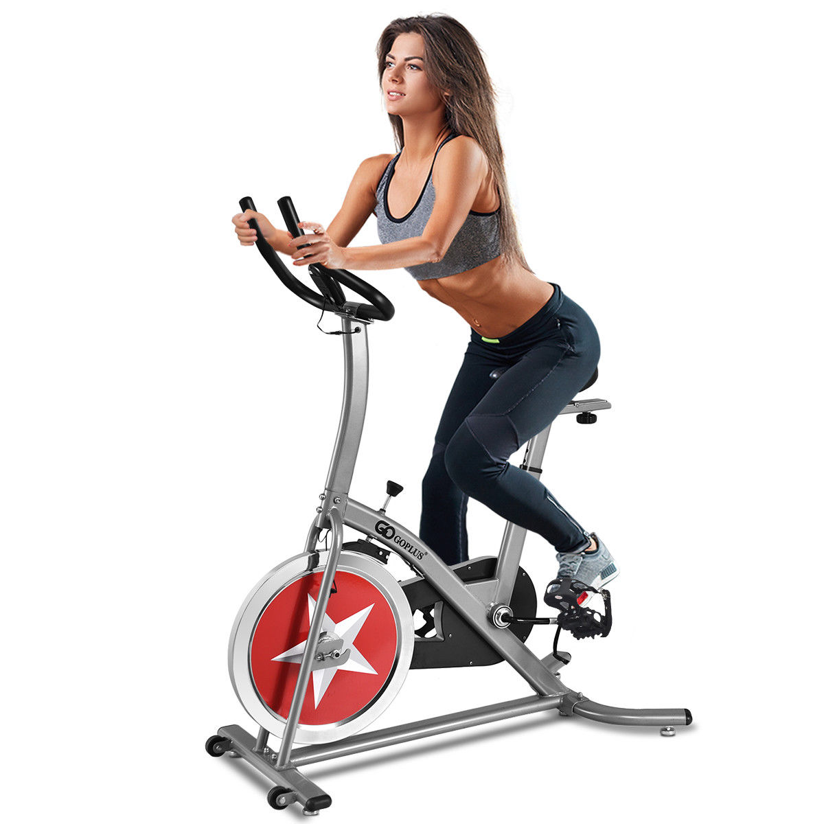 Bicycle Cycling Exercise Bike Adjustable Gym Fitness Cardio Workout Home |  Walmart Canada