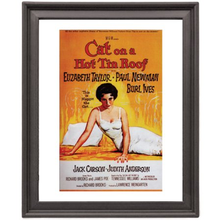 Cat on a Hot Tin Roof 1 - Picture Frame 8x10 inches - Poster - (Cat On A Hot Tin Roof Character Analysis)