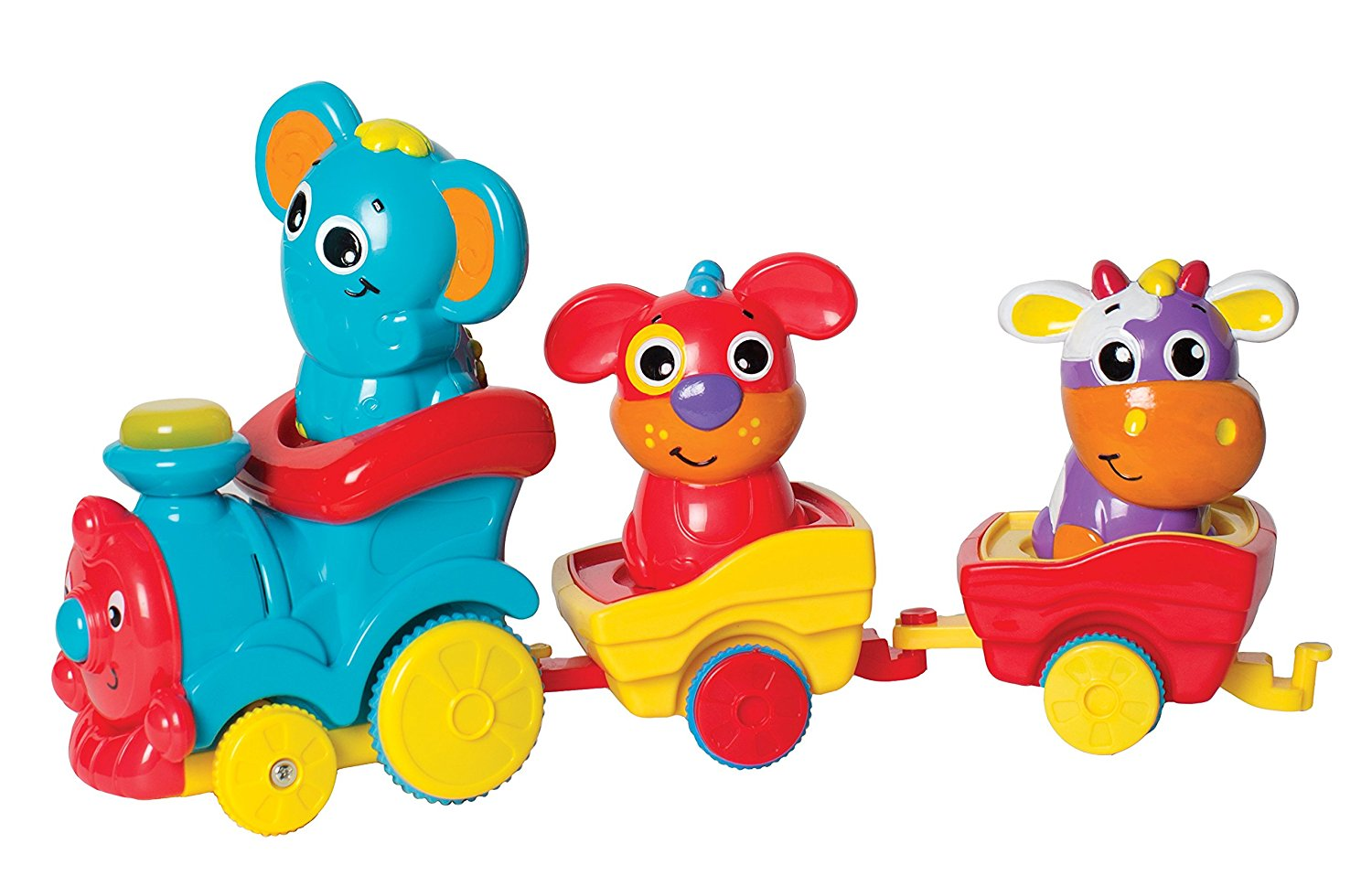 6385511 Fun Friends Choo Choo Train for Baby STEM Toy, Features lights that flash to the beat of the music By... by Playgro