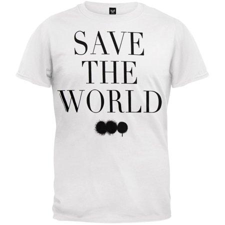 Swedish House Mafia - Save The World Soft T-Shirt (Swedish House Mafia Leave The World Behind Documentary)