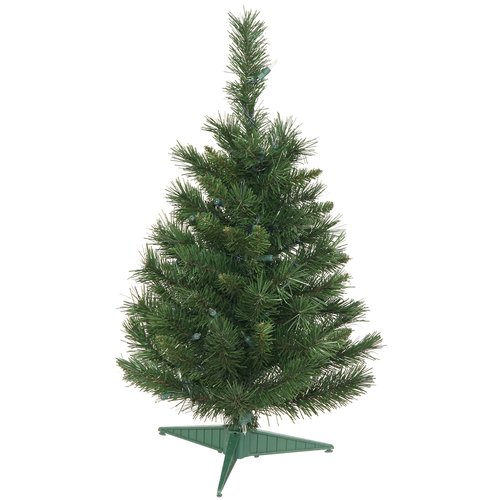 "Vickerman 24"" Imperial Pine Artificial Christmas Tree, Unlit"
