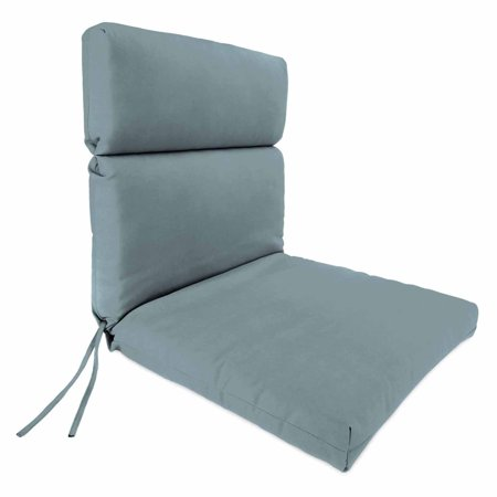 Jordan Manufacturing High Back Solid Outdoor Chair Cushion