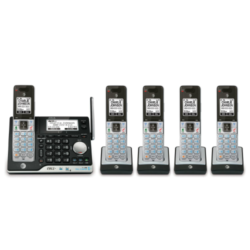 ATandT CLP99573 5 Handset Answering System by AT&T