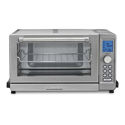 Cuisinart Deluxe Convection Toaster Oven Broiler, TOB-135N, Stainless Steel