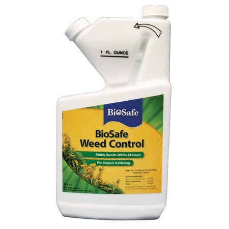 BioSafe Weed Control Concentrate - 32 oz (Best Way To Flush Your System Of Weed)