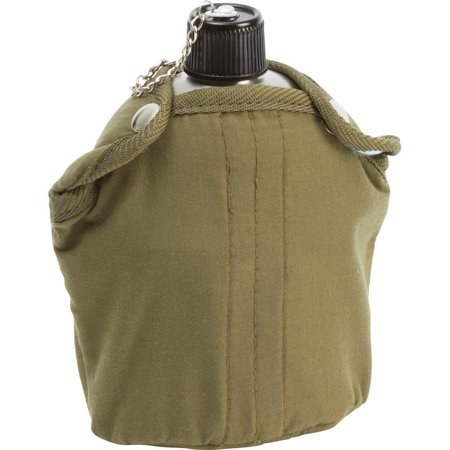 Maxam® 32oz Stainless Steel Canteen with Cover and Cup ()
