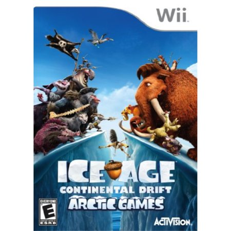 ice age: continental drift arctic games - nintendo (Ice Age 4 Continental Drift Arctic Games)
