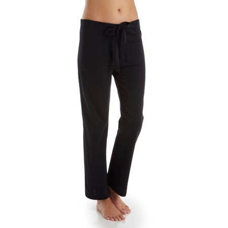 21b60a6636 Women s Cottonique W12208 Latex Free Organic Cotton Drawstring Lounge Pants  - Walmart.com