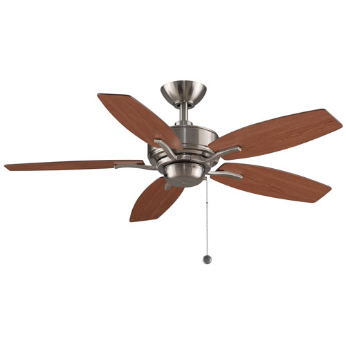 Aire Deluxe Brushed Nickel 44-Inch Ceiling Fan by