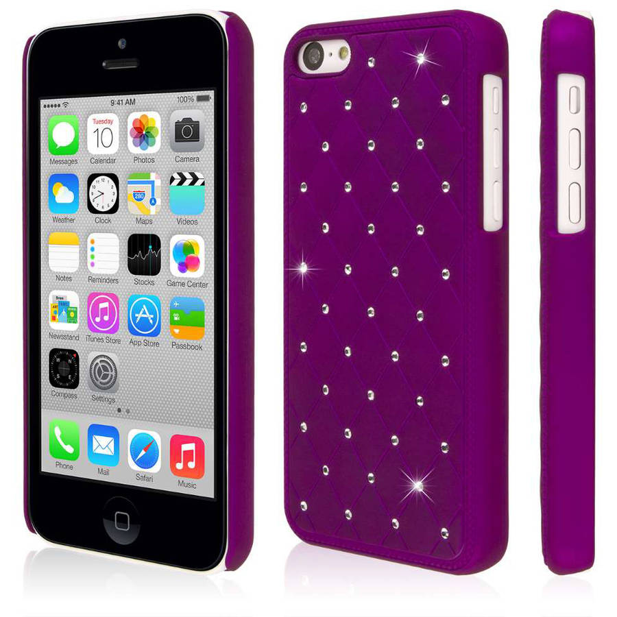 EMPIRE GLITZ Bling Accent Case for Apple iPhone 5C