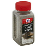 McCormick Pure Ground Black Pepper, 7.75 OZ