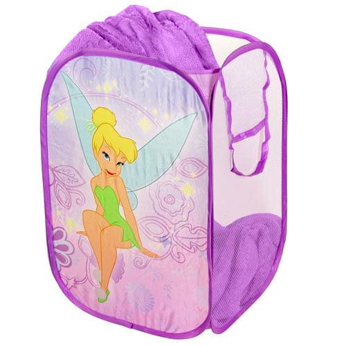 Disney Tinkerbell Collapsible Storage Pop Up Hamper