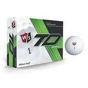 Wilson Staff TD Soft Golf Balls, 12 Pack