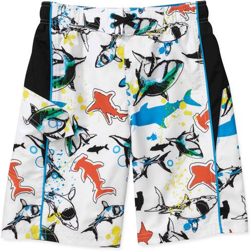 Op Boys' Sketchy Shark Swim Shorts