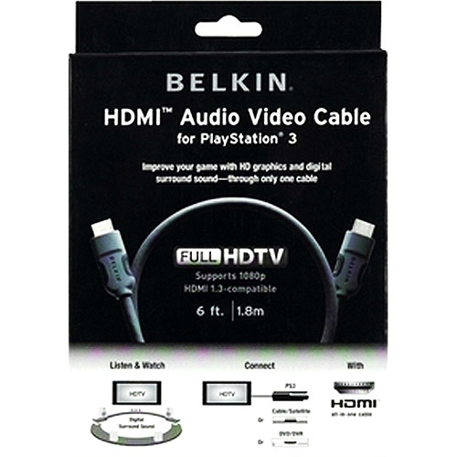 Belkin AM22302-06 HDMI Audio Video Cable