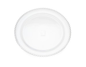 Chesterfield 11  Non-Leaded Crystal Pearl Design Dinner Plates ...  sc 1 st  Walmart.com & Chesterfield 11