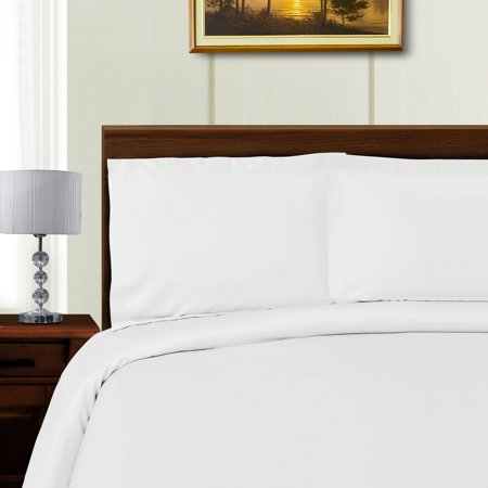 Superior 1000 Thread Count Silky Soft Tencel Blend Wrinkle Resistant  Button Closure Solid Duvet Cover Set
