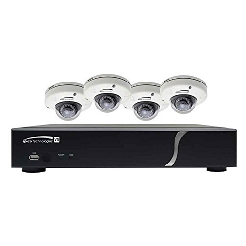 8 CHANNEL ZIP KIT WITH 4 DOMES, 2T HD