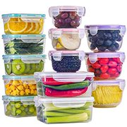 Best Tupperware Sets - BAYCO [13 Pack] Food Storage Containers with Lids Review