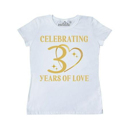 30th Wedding Anniversary Gift Women's T-Shirt